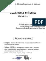 2. Estrutura atômica Historia & função de onda