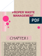 Proper Waste Management(Pjo.) Daryll