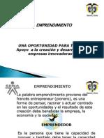 Presentacion de Emprendimiento 2012