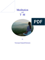Meditation and T M