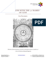 Meditation With the 72 Names of God Prosperity