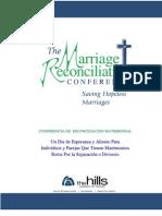 Reconciliation Matrimonial - electrónico