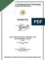 EMTL Course File