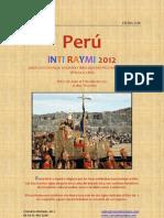 Inti Raymi Peru 2012