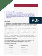 INTRODUCCIÓN A LAS NORMAS ISO