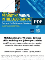 Session 7. ANNEMARIE REERINK_Matchmaking for Women
