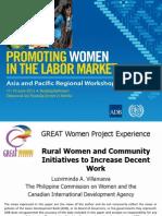 Session 8. Luvy Villanueva_great Women Project