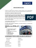 BANCO DE CRÉDITO DEL PERU- kevin