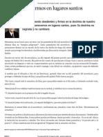 Permaneced Firmes en Lugares Santos - General-conference