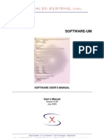 Xalyo Systems Software Manual 0.95