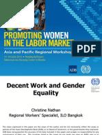 Session 9. NATHAN_Decent Work and Gender Equality