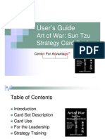 Art of War Sun Tzu Strategy Card Deck User's Guide