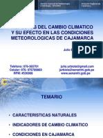 6----170409cambioclimatico y Efectos en Cond.meteorologicas de Cajamarca