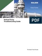 Sulzer Vertical Pump Troubleshooting