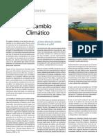 Cambio climpatico, café y medio ambiente