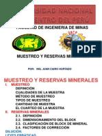 Tema 08 - Muestreo y Reservas