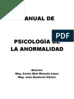 Psicologia de La Anormalidad