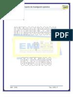 PROYECTO de Investigacion Operativa