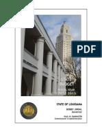 Louisiana State Budget, 2013
