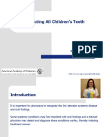 Pediatric Oral Manifestation of Sustemic Disease