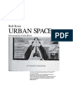 Rob Krier - Urban Space