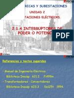 2.1.4 Interruptores de Poder
