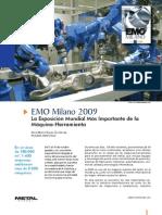 }EMO Milano 2009