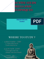 Effective Study Skills and Tecniques (New)