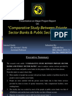 SIDHARTH GERA - Comparative Study Between Private Sector Banks & Public Sector Banks
