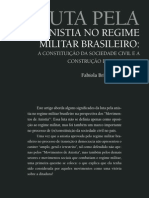 Fabiola Brigante Del Porto Luta Pela Anistia