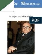3373 Conferencia Completa Sobre La Mujer de Julian Marias