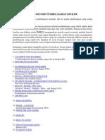 41 Macam Model Metode Pembelajaran Efektif