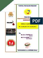 New P-Form Weekly Idsp Alert - Week 24 Banaskantha