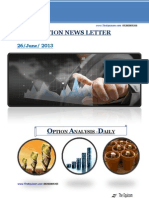 Option Tips and Newsletter
