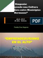 Simposio El Alto