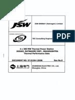 57.K156-13E06 Thermal Performance Data