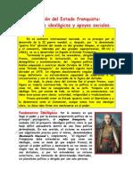 La Creacion Del Estado Franquista