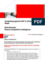 SAP vs Oracle