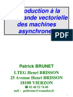 Commande Variation de Vitesse Machine Asynchrone