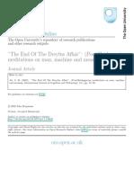 "Ali 2002 ""The End Of The Dreyfus Affair""- (Post)Heideggerian meditations on man, machine and meaning"