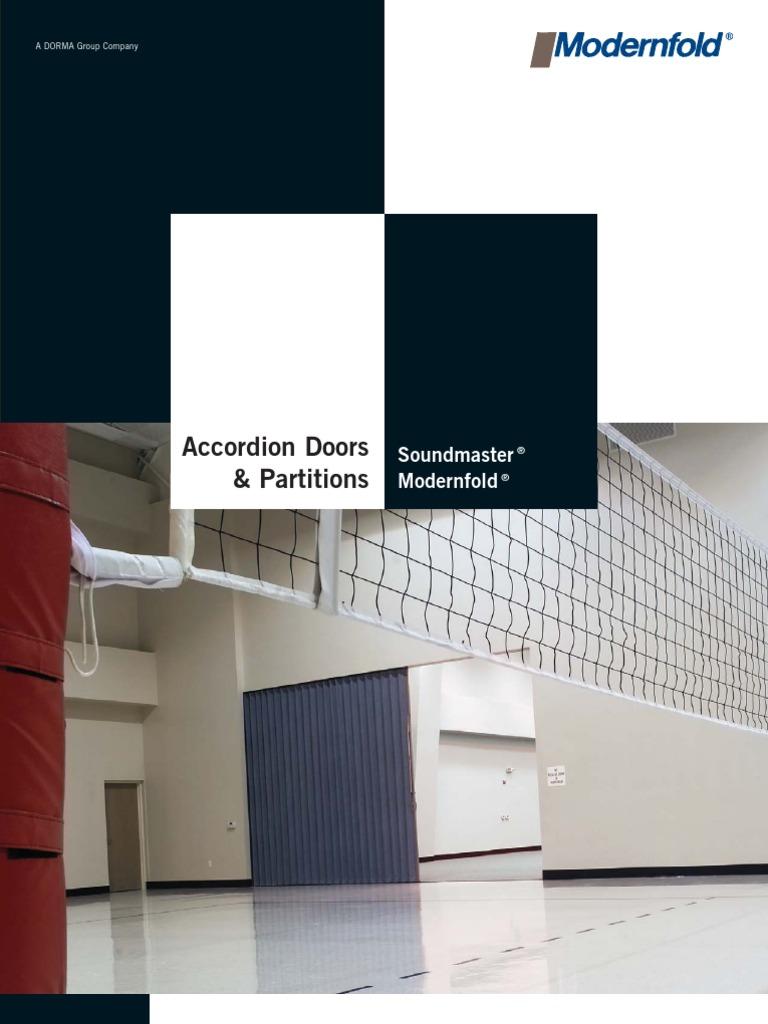 Mf Accordion Brochure Structural Steel Door