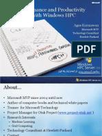 10.2. WindowsHPC2008 - Agus K
