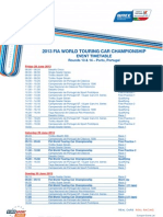2013 Wtcc Timetable 07 Porto