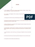 QUIZ BEE Guidelines