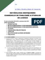 metodologie licenta 2013-2014