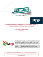EducationPopulaire_ContributionCnajep_VersionPublique_030613