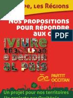 2012 - Legislativas - Programa - Partit Occitan - 8 Pages