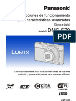 Manual Camara Fotos Panasonic DMC SZ9 LUMIX (en Castellano)