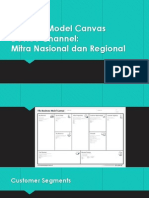 Business Model Canvas Mitra Nasional Dan Regional