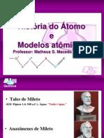 Apresentação - Modelos Atômicos